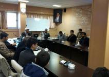 مراسم تودیع و معارفه مسئول بسیج دانشجویی دانشگاه صنعتی همدان برگزار شد