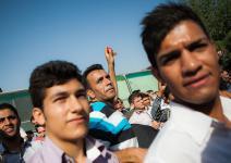 (تصاویر) گرداندن اشرار در خاوران