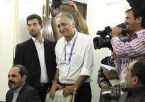 (تصاویر) مستندسازی نجفی در سالن اجلاس