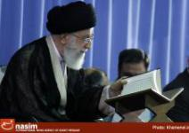 گزارش تصویری// برگزاری محفل انس با قرآن کریم در حضور رهبر معظم انقلاب